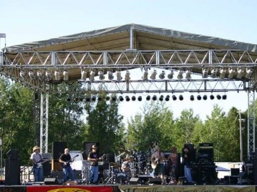 Outdoor Roof and Stage Hire